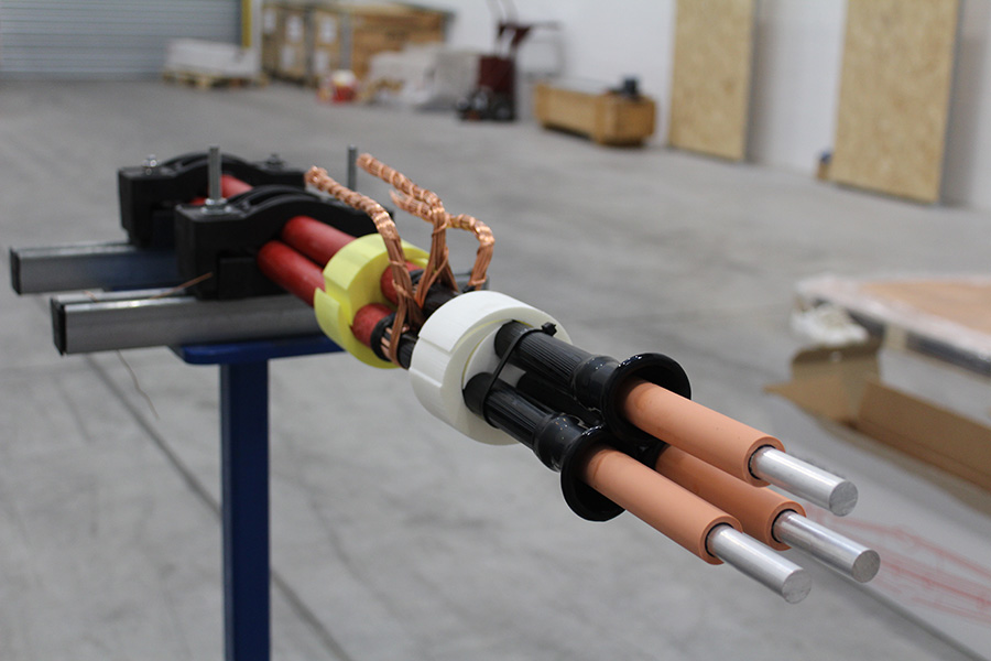 Recent Course: Lovink 11kV M-Series straight joint course